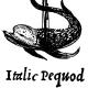 italic pequod